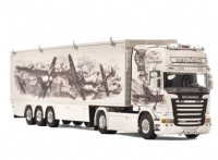 "WSI Repinski ""The Polish Squadron"" Scania Streamline and Volume Trailer"